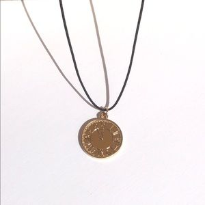 simple 14k gold necklace